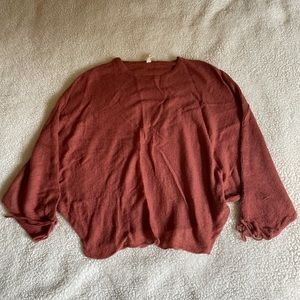 Boutique oversized sweater. Size S. Worn once.
